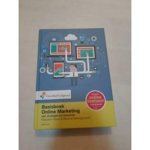 Basisboek Online Marketing 9789001887148 Visser en Sikkenga