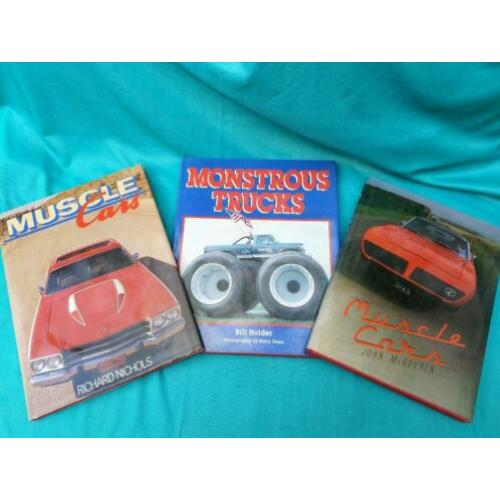 Autoboeken Musclecars Monstertrucks