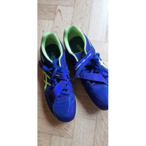 Asics Turbo high Jump spikes maat 43.5