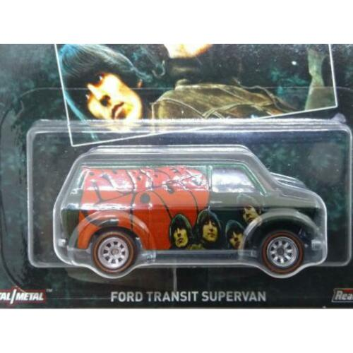 Ford transit supervan The Beatles 1:64 3inch Hotwheels Pol