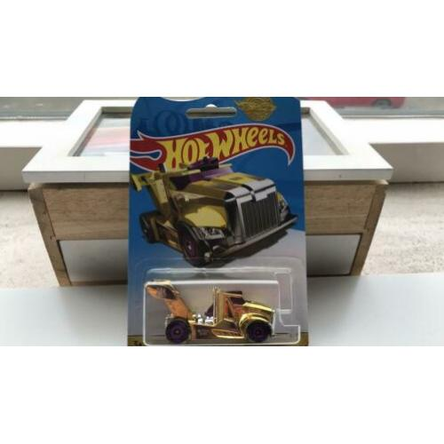 Hot wheels Rig Storm Gold Chrome Edition 2019 Hotwheels