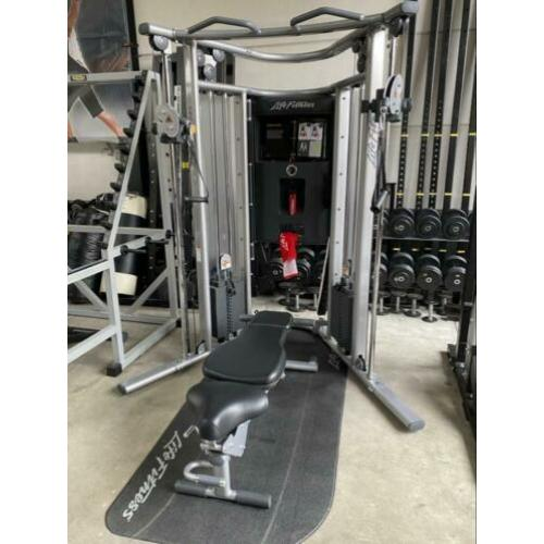 Life Fitness G7 Cable Crossover + Bench ( Nieuwstaat)
