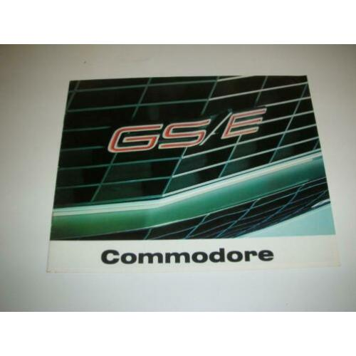 Opel Commodore Folder 1973