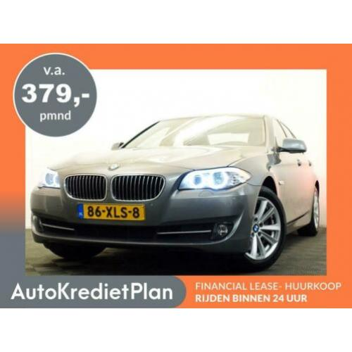 BMW 5 Serie Sedan 528I HIGH EXECUTIVE 245pk AUT8, Leer, Navi