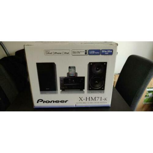 2 Speakers van Pioneer X-HM71-K set