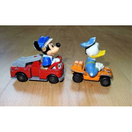 Matchbox Disney Series Mickey Mouse en Donald Duck.