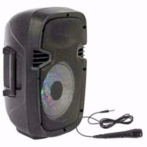 PARTY-7LED Mobiele Speaker 8 inch 300Watt (6099P-B)
