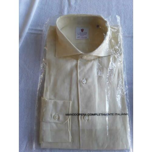 Nieuw met label made in Italy Cordone linnen shirt mt 40