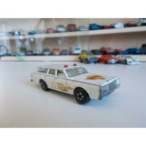 Lesney Matchbox Superfast No 55 Mercury Commuter Police Car