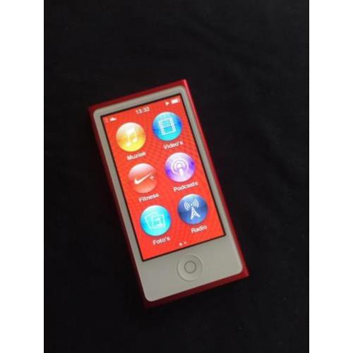 Apple iPod nano 7 - 16GB - Limited edition RED met Armband